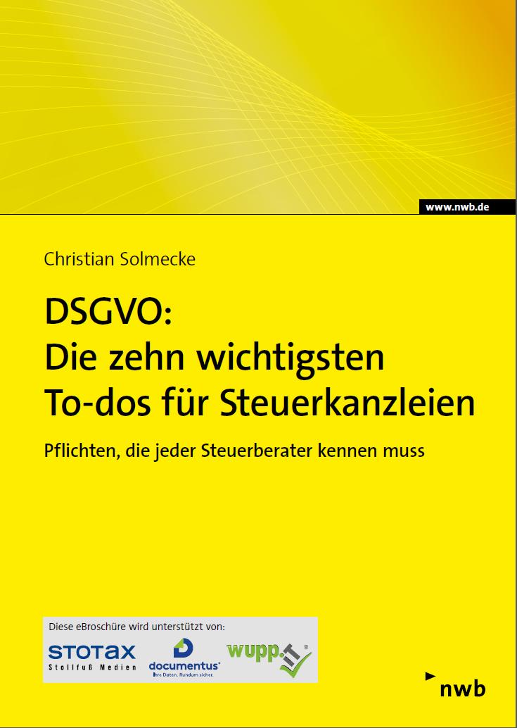 DSGVO Steuerkanzlei