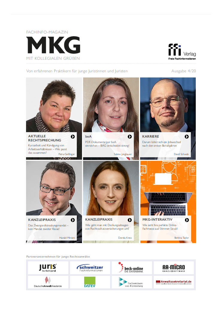 Fachinfo-Magazin MkG