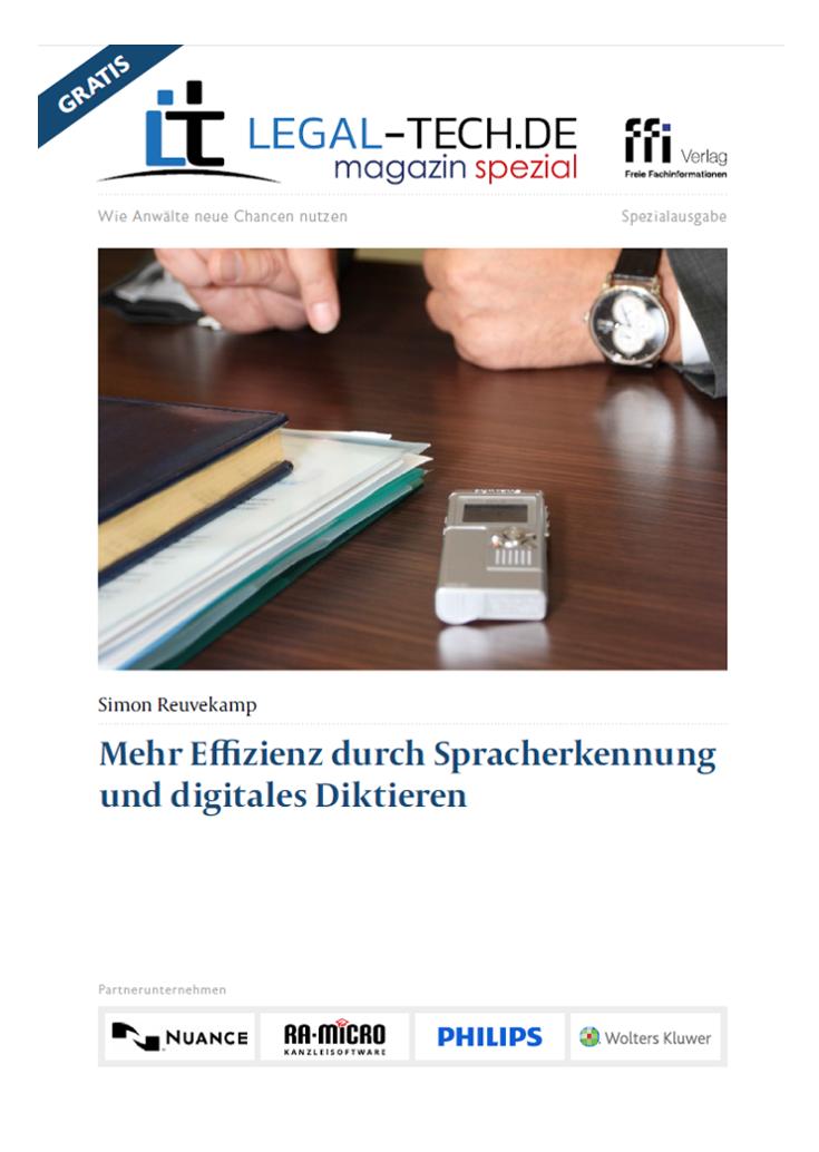 Spracherkennung und digitales Diktieren